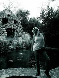 Trteno Girl In black and white 6. by OrsatUrsusActos