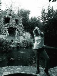Trteno Girl In black and white 7. by OrsatUrsusActos