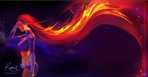 :C: Starfire by KoriArredondo