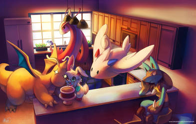 Baking Evening by KoriArredondo