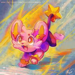 Pink Shinx by KoriArredondo