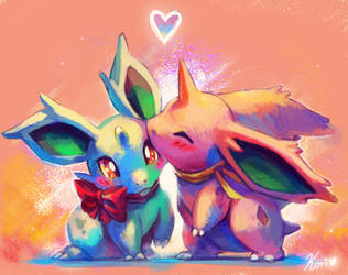 Bunny love by KoriArredondo