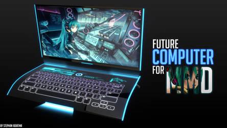[MMD] Future Computer DOWNLOAD Acc for MMD by SakuraMIZ