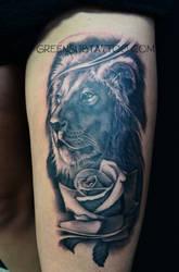 Rose lion bestseller by DorianBakalov
