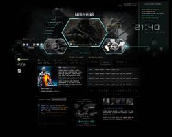 Battlefield website by lgalol