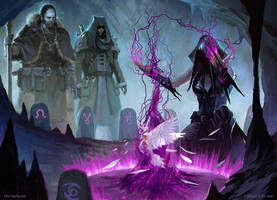 Curse of Death's Hold - MTG by ClintCearley