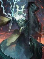Odin - LotC by ClintCearley