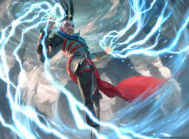 Stormchaser Mage - MTG by ClintCearley