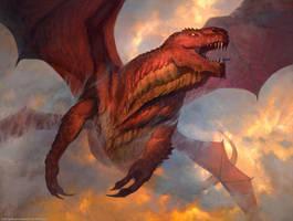 Rorix Bladewing - MTG by ClintCearley