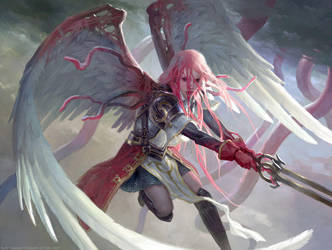 Gisela, the Broken Blade - MTG by ClintCearley