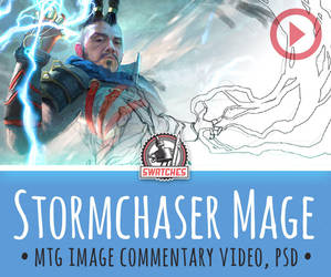 Stormchaser Mage by ClintCearley