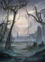 Swamp - MTG by ClintCearley