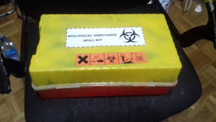 My biohazard spill kit by EMT-Fox-Dan