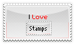 i Love Stamps Stamp by WiiplayWii