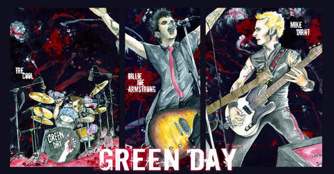 OLD- Green Day Concert by kique-ass