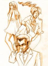 magpie sketcheroo by kique-ass