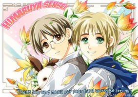 APH: Thank you Himaruya sensei by BOMB4Y
