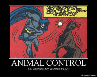 DM poster- Batman control by riderkid