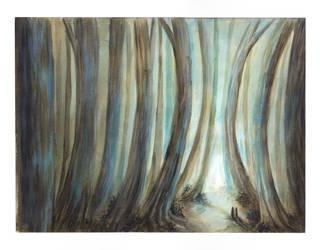Tall Tree Tale by Droaven