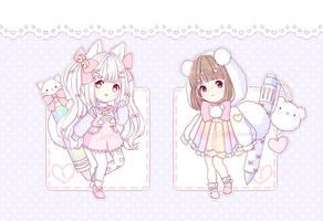 [CLOSED] ~ Rainbow Miffumis Auction ~ by intheyuukei