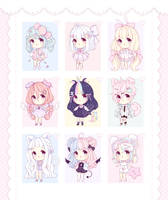 [OPEN 4/9] ~ Baby Adoptables: Set Priced #1 ~ by intheyuukei