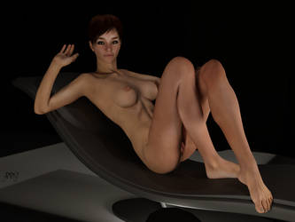 DAZ3D Cora Dark Chair by g00fy1