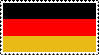 German flag stamp by studentofdust