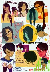 Hair Chart by Dasyeeah