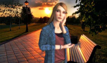 Rachel Amber at Park by Eddy7454