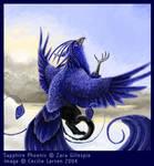 Sapphire Phoenix by tarangryph