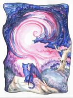 .: Octarine Sky :. by anachsunamon