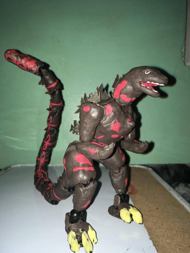 Clay Shin Godzilla By Godzilla154 On Deviantart