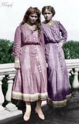 Maria and Olga by Maydy
