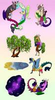 Draconequus Reproduction Headcanon by CartoonBoyfriends