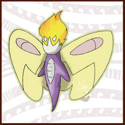 Gleamifly, the Underdeveloped Pokemon by KyephaLife
