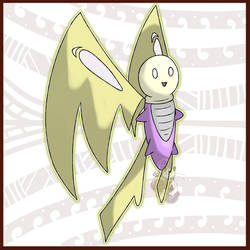 Sparxifly, the Lightbulb Pokemon by KyephaLife