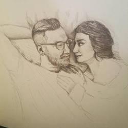 1.5 hour pencil drawing by borschtplz