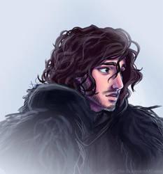 Jon Snow is Sad by The-Ez