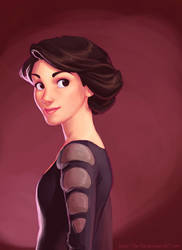 Lady Mary Crawley by The-Ez