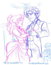 Practicing for the Ball - July 2014 by The-Ez