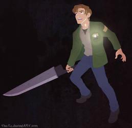 James Sunderland - Silent Hill 2 Fan Art by The-Ez