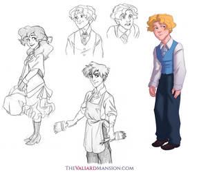 Valiard Teens Sketch Dump by The-Ez