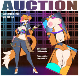 Auction : Hair_Stylist_Rainbow_Fox_Babe by R-MK
