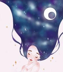 Dream In Galaxy by nomiione