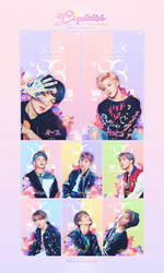 BTS iPhone6/6plus Wallpaper 170226 by Corauni