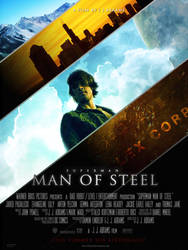Man Of Steel POSTER-3 v1 by childlogiclabs