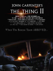 THE THING II Movie Poster by childlogiclabs