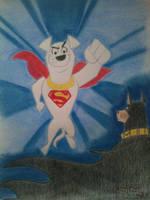 KRYPTO THE SUPERDOG by PIXARLOVER1