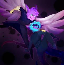 so i wanna see them fight [commission] by ochitea