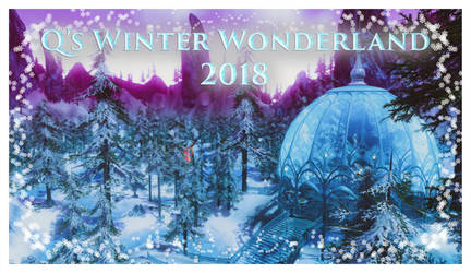 Q's Winter Wonderland 2018 by Salacnar